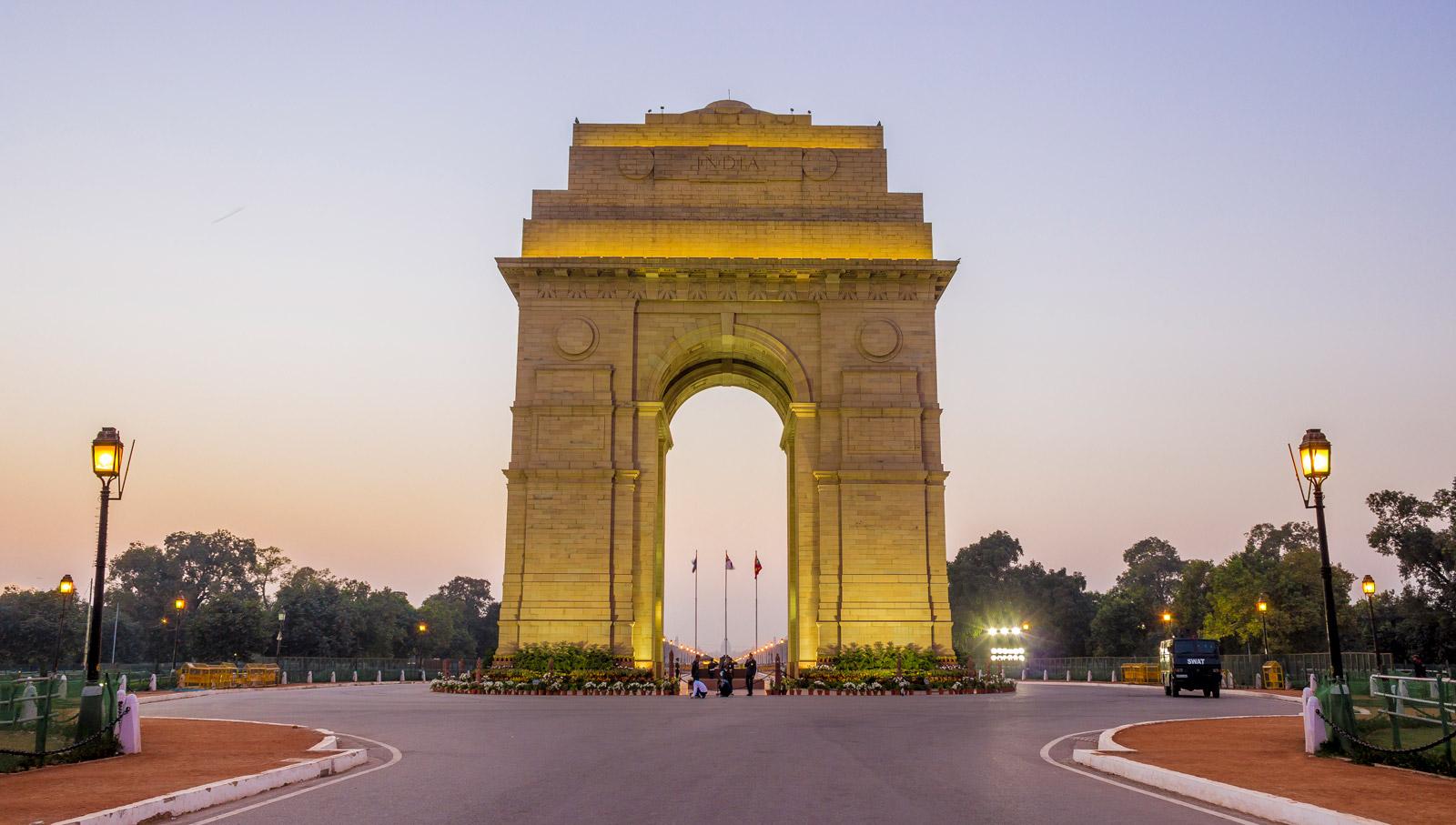Delhi City in India